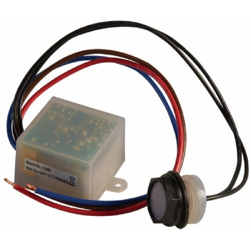 PC25 IP65 1KW 20MM Remote Miniature Photocell. Thermal Photodiode Dusk to Dawn Sensor.